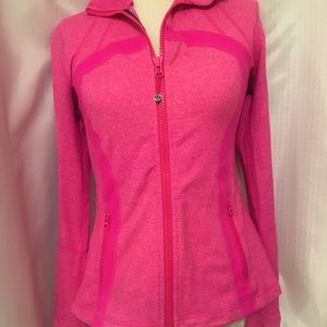Dark pink lululemon jacket